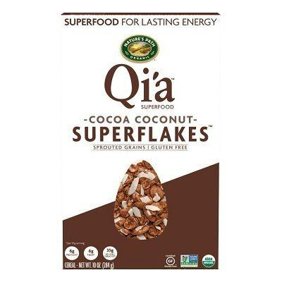 Nature's Path Qi'a Superflakes Cocoa Coconut (12x10 Oz)