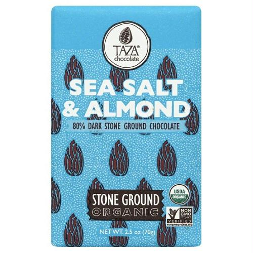 Taza Sea Salt & Almond   (10x2.5 Oz)