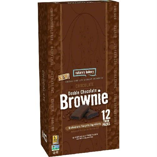 Nature's Bakery  Double Chocolate Brownie (12x2 Oz)