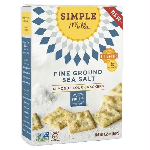 Simple Mills Fine Ground Sea Salt Crackers (6x4.25 Oz)