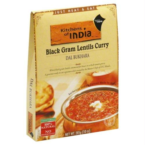 Kitchens Of India Dal Bukhara Black Gram Lentils Curry (6x10 Oz)