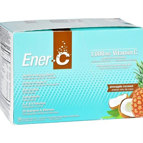 Ener-c Pineapple Coconut 1000mg (1x30 Ct)