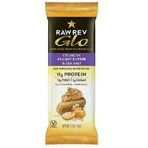 Raw Revolution Crunchy Peanut Butter & Sea Salt (12x1.6 Oz)