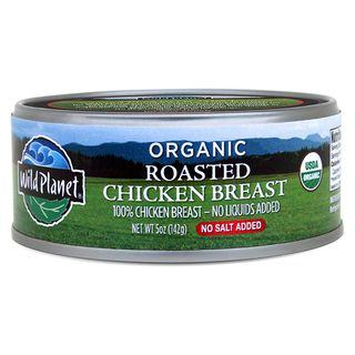 Wild Planet Organic Roasted Chicken Breast With No Salt (12x5 Oz)
