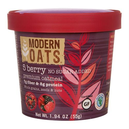 Modern Oats 5 Berry Oatmeal (6x2.3 Oz)