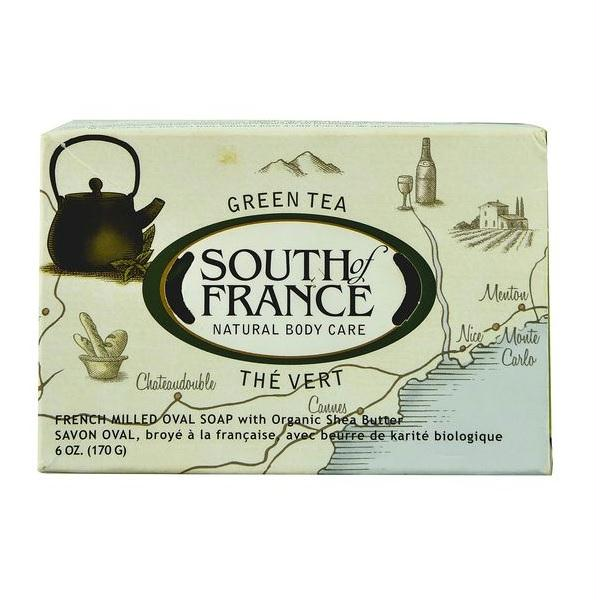 South Of France Bar Soap Green Tea  (1x6 Oz)