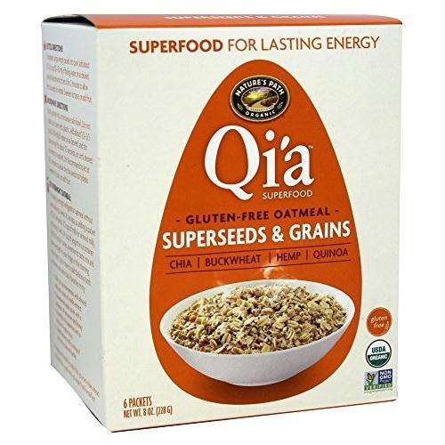 Nature's Path Organic Qi'a Oatmeal Superseeds & Grains (6x8 Oz)
