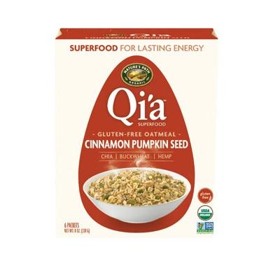 Nature's Path Qi'a Superfood Oatmeal Cinnamon Pumpkin (6x8 Oz)