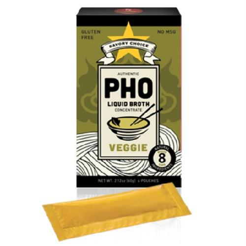Savory Choice Pho Vegetable Broth Concentrate (12x2.12 Oz)