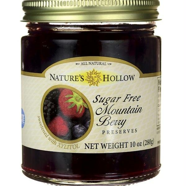 Nature's Hollow Mountain Berry Jam  (6x10 Oz)