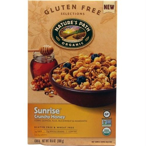 Nature's Path Sunrise Crunchy Honey Cereal (12x10.6 Oz)