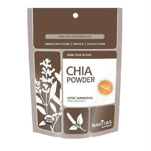 Navitas Naturals Organic Chia Seed Sprouted Powder (12x8 Oz)