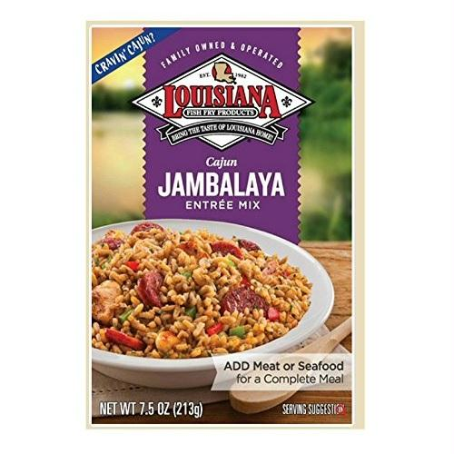 Louisiana Entr_e Mix Cajun Jambalaya (12x7.5 Oz)