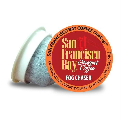San Francisco Bay Coffee Onecup Fog Chaser (6x4.65 Oz)