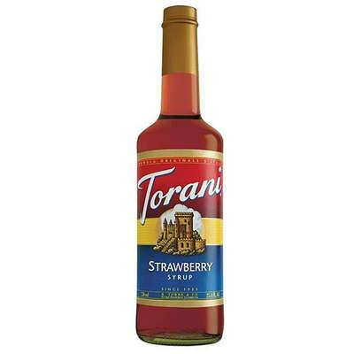 Torani Straw Coffee Syr (12x25.35oz )
