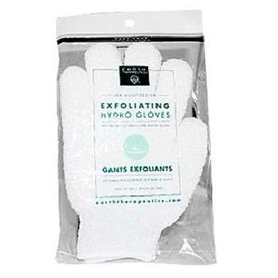 Earth Therapeutics Exfol Hydrating Glv White (1x1each)