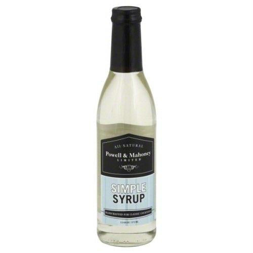 Powell & Mahoney Limited Simple Syrup (6x12.68 Oz)