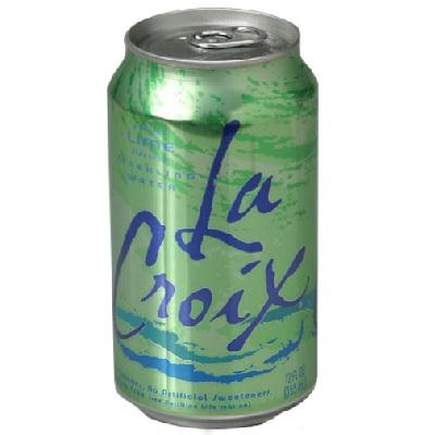 Lacroix Lime Sparkling Water (2x12oz )
