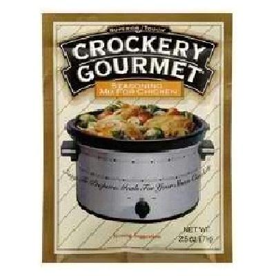 Crockery Gourmet Chck Seasoning Mix (12x2.5oz )