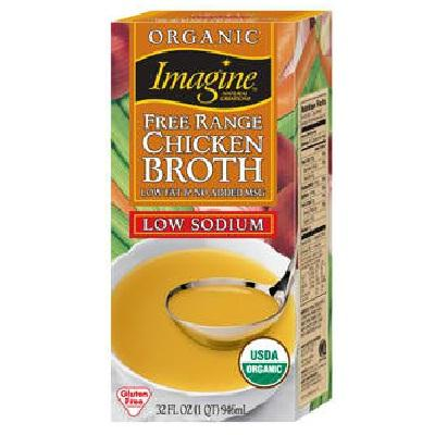 Imagine Foods No Chicken Broth Ls (12x32oz )