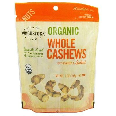 Woodstock R-s Lrg Whole Cashews (8x6oz )