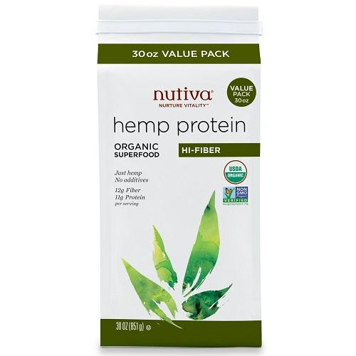 Nutiva Hmp Protein Powder (1x30oz )