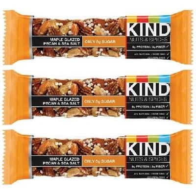 Kind Mapple Glzd Pecan-seasalt (12x1.4oz )