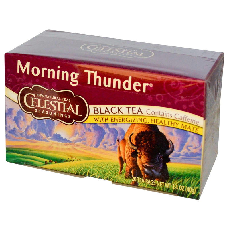 Celestial Seasonings Morning Thunder Caff (6x20bag )