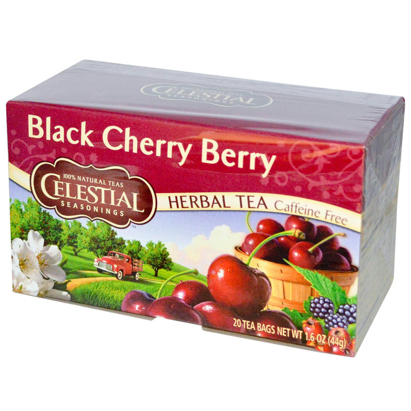 Celestial Seasonings Black Cherry Berry Tea (6x20bag )