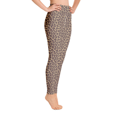 Leo Print Yoga Leggings