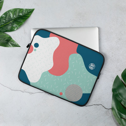 LAPTOP HÜLLE | LAPTOP SLEEVE ORGANIC BLOBS