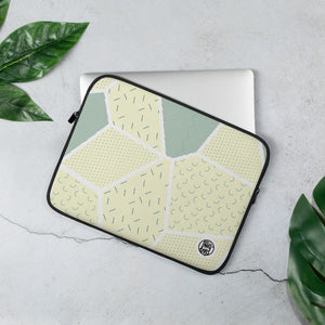 LAPTOP HÜLLE | LAPTOP SLEEVE BEIGE STROKES