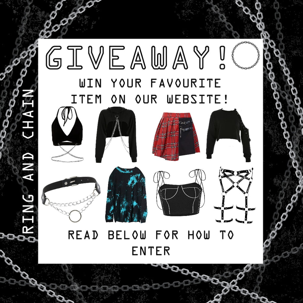 WIN YOUR FAVOURITE ITEM!