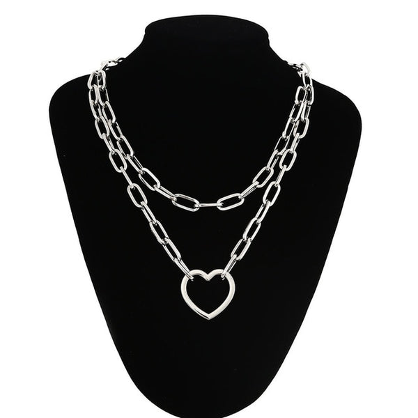 Giant Pendant Chain Necklace