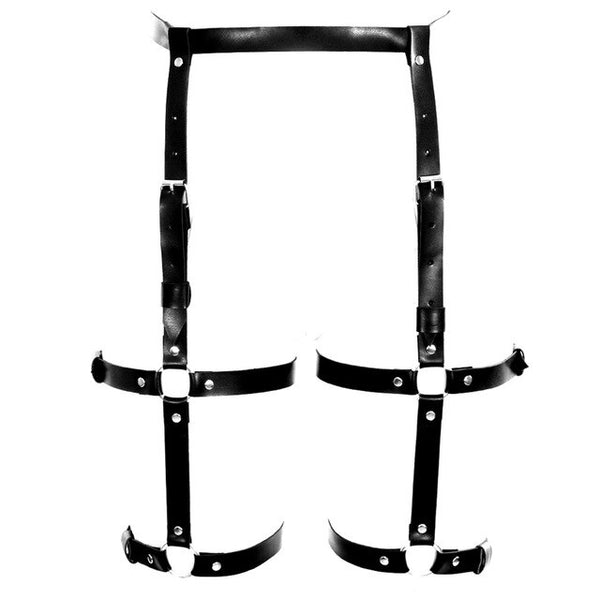 ORBIT PU Leather Leg Harness