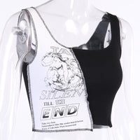 Spliced Tank Top