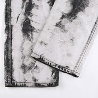 Bleach Dye Cargo Trousers
