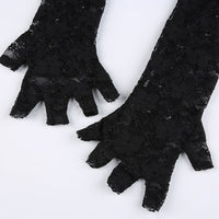 Lace Sleeve Gloves