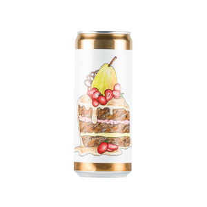 Chocolate Strawberry Pear Vanilla Cake 12.3% 33cl