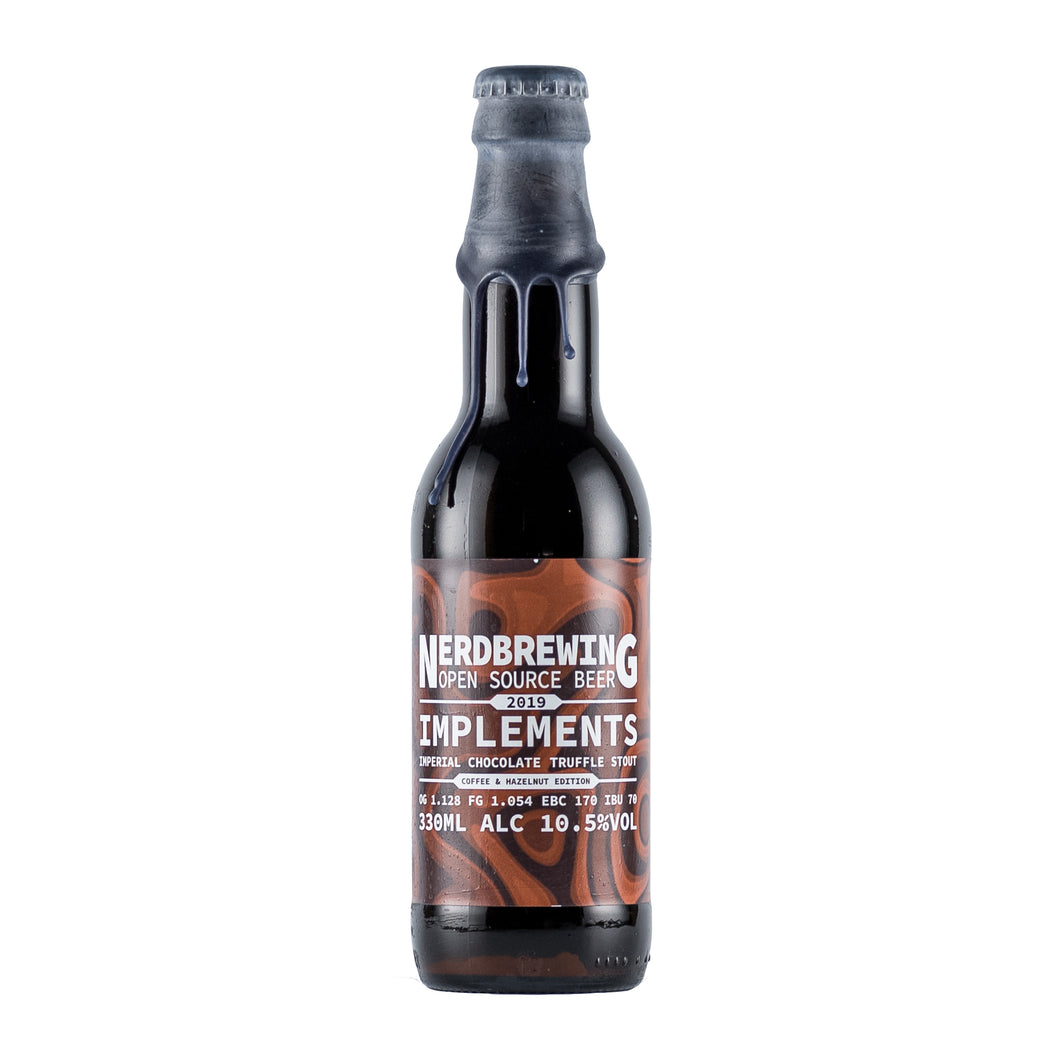 Implements Imperial Chocolate Truffle Stout - Hazelnut & Coffee Edition 10.5% 33cl