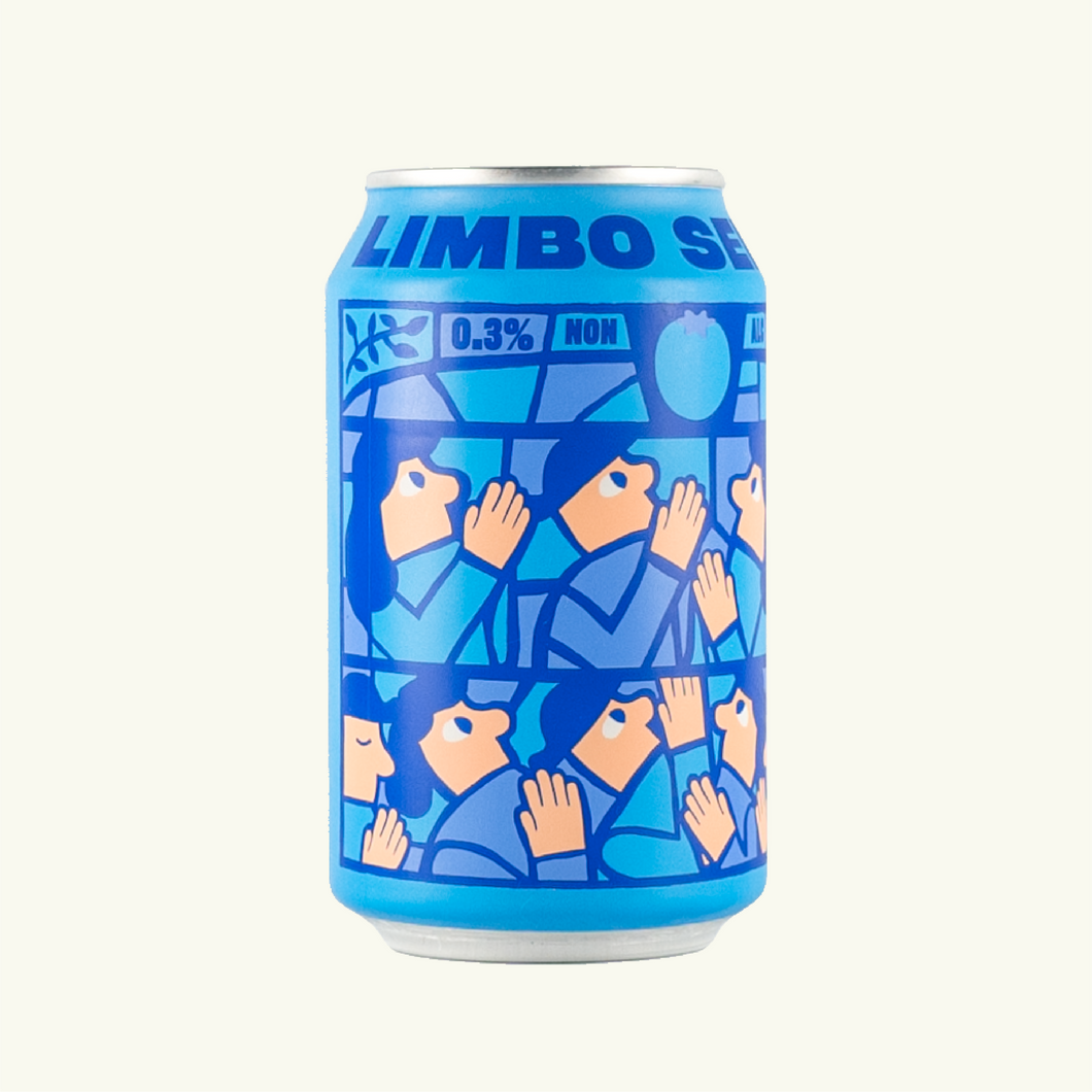 Limbo Series Blueberry 0.3% 33cl