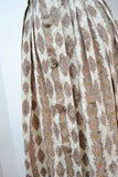 1960s Printed cotton Japanese Mitsukoshi day dress - Extra small