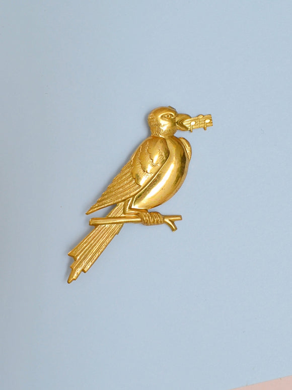 The Songbird brooch