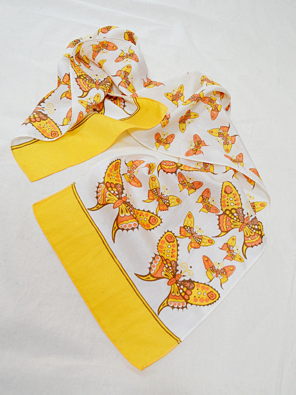 The Butterfly Garden scarf