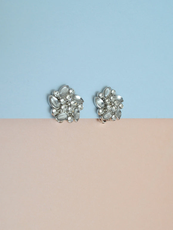 The Emeline rhinestone earrings