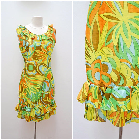 The Protea dress in green