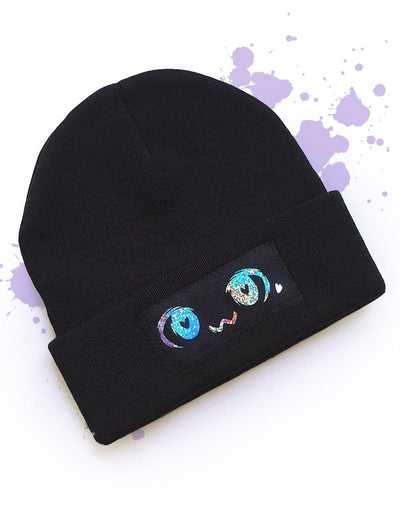 Kawaii eyes Beaine hat - tamaishidesign