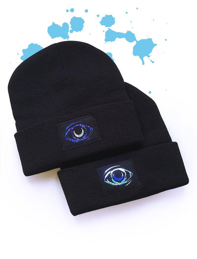 Witch eyes Beaine hat - tamaishidesign