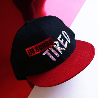 I'm sooo tired baseball cap - tamaishidesign