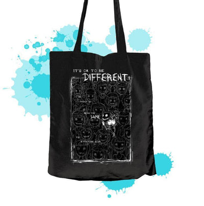 """Different"" Textile bag - tamaishidesign"